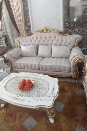 Complete Set of Antique Sofa by 7 Seater | Furniture for sale in Lagos State, Lekki