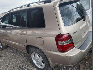Toyota Highlander 2007 Limited V6 4x4 Gold | Cars for sale in Lagos State, Abule Egba