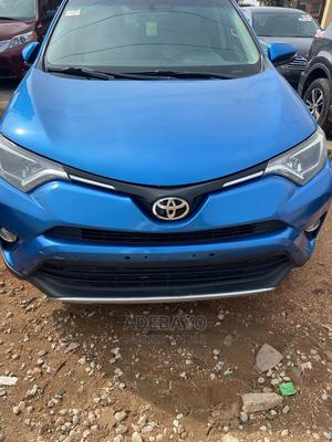 Toyota RAV4 2016 XLE AWD (2.5L 4cyl 6A) Blue | Cars for sale in Oyo State, Ibadan