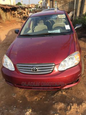 Toyota Corolla 2004 Red | Cars for sale in Lagos State, Alimosho