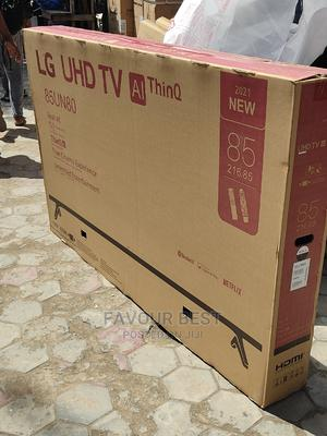 2021made>LG 85inch UHD SMART 4K Bluetooth TV Netflix Youtube   TV & DVD Equipment for sale in Lagos State, Ojo