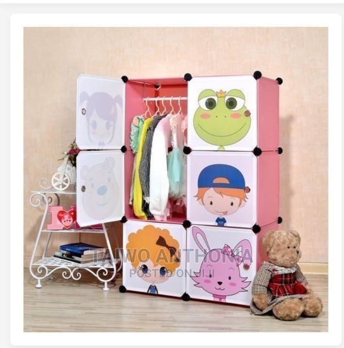 6 Door Baby Storage Cabinet Wardrobe