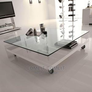 Tempered Glass Center Table | Furniture for sale in Rivers State, Port-Harcourt