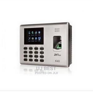 Zkteco K40 Network Fingerprint Standalone Time Clock | Security & Surveillance for sale in Lagos State, Ikeja