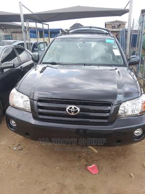 Toyota Highlander 2007 V6 4x4 Black   Cars for sale in Lagos State, Abule Egba