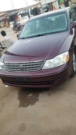 Toyota Avalon 2004 XL Red   Cars for sale in Lagos State, Ikeja