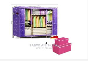 4 Column Multi Compartment Elegant Wooden Wardrobe   Furniture for sale in Lagos State, Apapa