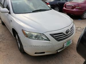 Toyota Camry 2009 Hybrid White | Cars for sale in Lagos State, Ikeja