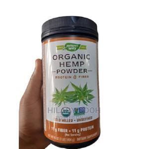 Nature's Way Organic Hemp Seed Protein Fiber Powder | Vitamins & Supplements for sale in Lagos State, Ojo
