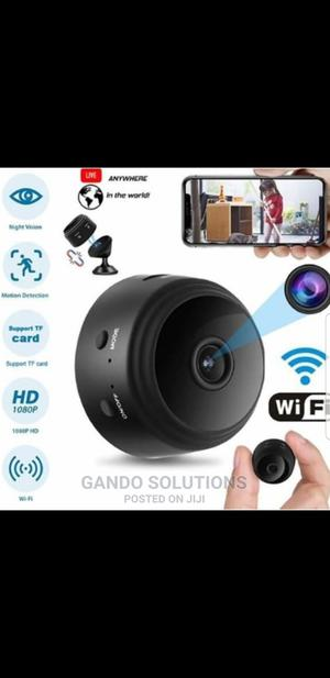 Mini Spy A9 Spy Camera With Inbuilt Battery | Security & Surveillance for sale in Lagos State, Ikeja