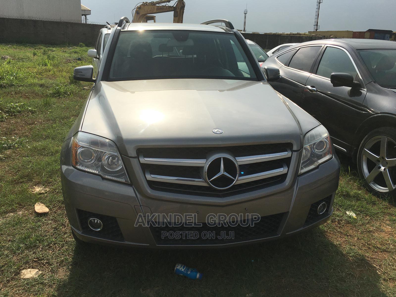 Mercedes-Benz GLK-Class 2012 350 4MATIC Gray   Cars for sale in Gbagada, Lagos State, Nigeria
