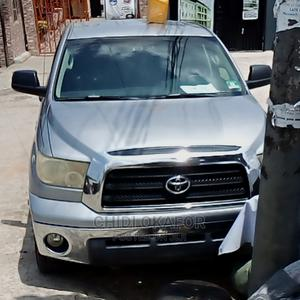 Toyota Tundra 2010 Double Cab 4x4 Limited Silver | Cars for sale in Lagos State, Isolo