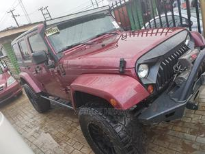 Jeep Wrangler 2012 Sahara Red | Cars for sale in Lagos State, Alimosho