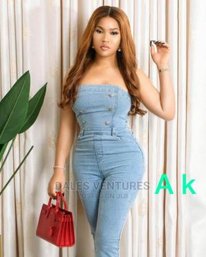 Women Casual One Piece Jeans Sexy Jumpsuit | Clothing for sale in Lagos State, Lekki