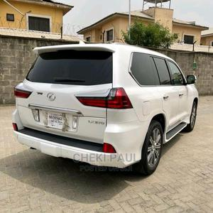 Lexus LX 2015 570 Base White   Cars for sale in Lagos State, Badagry