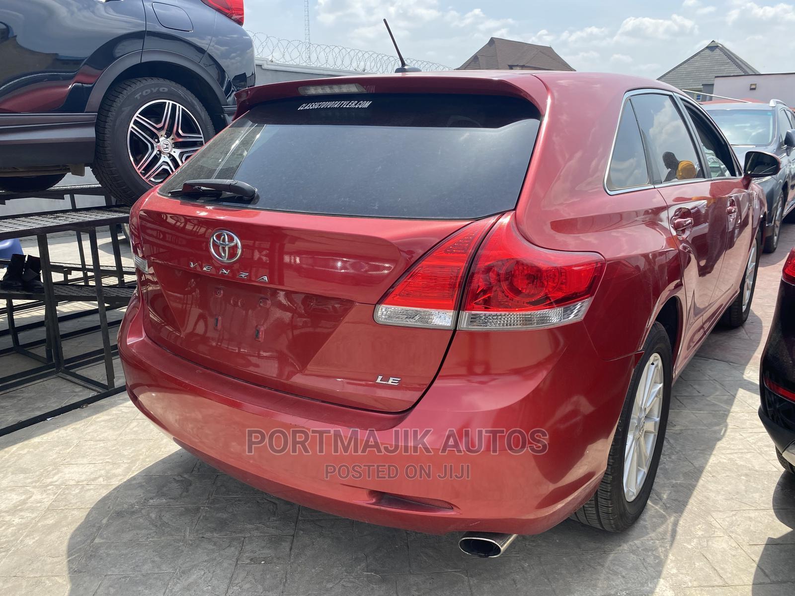 Toyota Venza 2012 Red | Cars for sale in Amuwo-Odofin, Lagos State, Nigeria