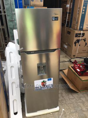 Midea Double Door Refrigerator 356L With Dispenser Feature | Kitchen Appliances for sale in Lagos State, Ikeja