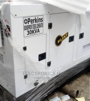 30 KVA Perkins Soundproof Diesel Generator 30kva | Electrical Equipment for sale in Lagos State, Amuwo-Odofin
