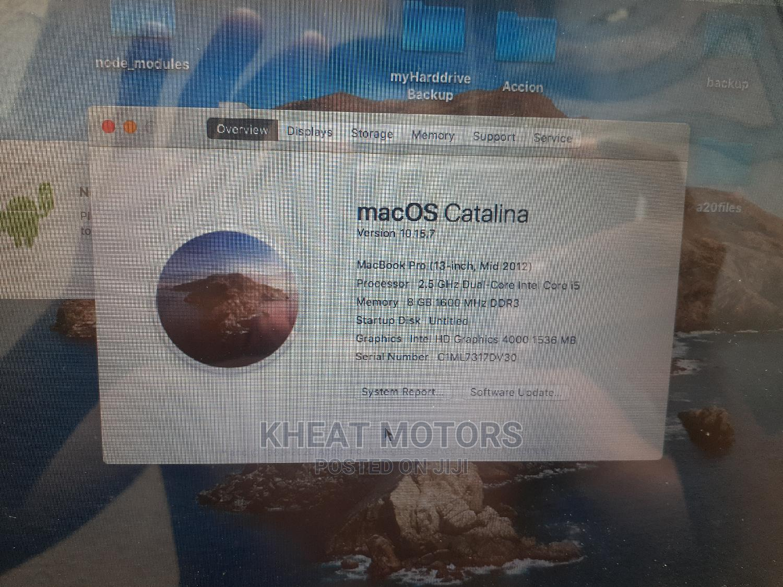 Archive: Laptop Apple MacBook Pro 2012 8GB Intel Core I5 HDD 500GB