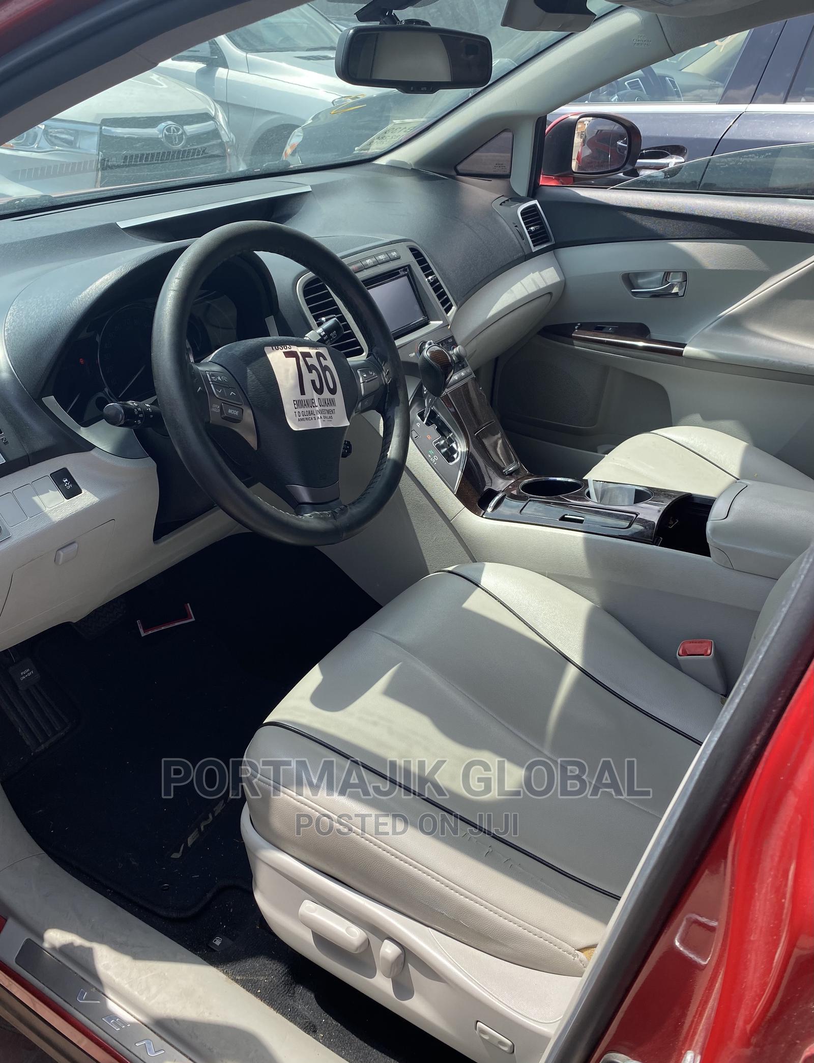 Toyota Venza 2012 AWD Red | Cars for sale in Amuwo-Odofin, Lagos State, Nigeria