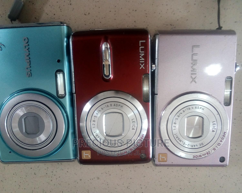 Panasonic and Olympus Digital Cameras