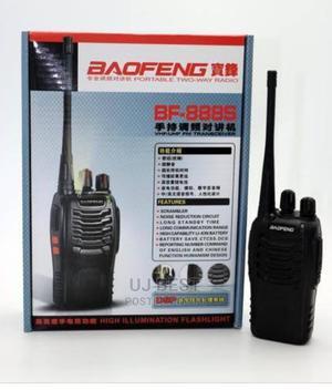 Baofeng BF-888S UHF 2-way Radio Handheld Walkie Talkie   Audio & Music Equipment for sale in Lagos State, Ikeja