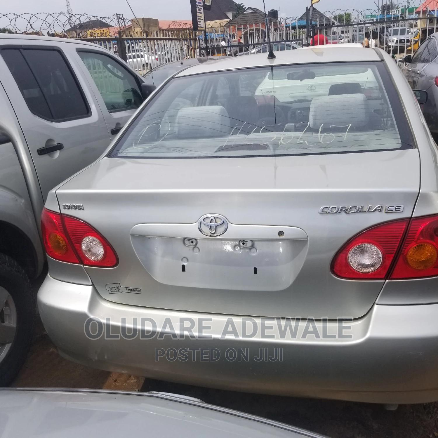 Toyota Corolla 2004 LE Silver | Cars for sale in Ikeja, Lagos State, Nigeria