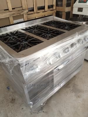 Gas Cooker 6 Burner With Oven | Restaurant & Catering Equipment for sale in Lagos State, Ojo