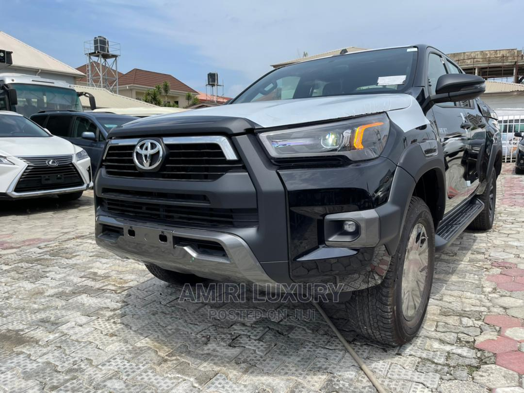 New Toyota Hilux 2021 Black   Cars for sale in Lekki, Lagos State, Nigeria