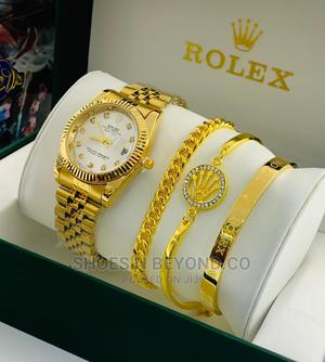 ROLEX Luxury Wrist Watch and Bracelets Sets for Bosses   Watches for sale in Lagos State, Lagos Island (Eko)