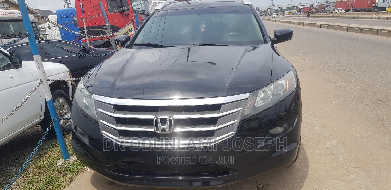 Honda Accord CrossTour 2010 EX-L Black | Cars for sale in Surulere, Lagos State, Nigeria