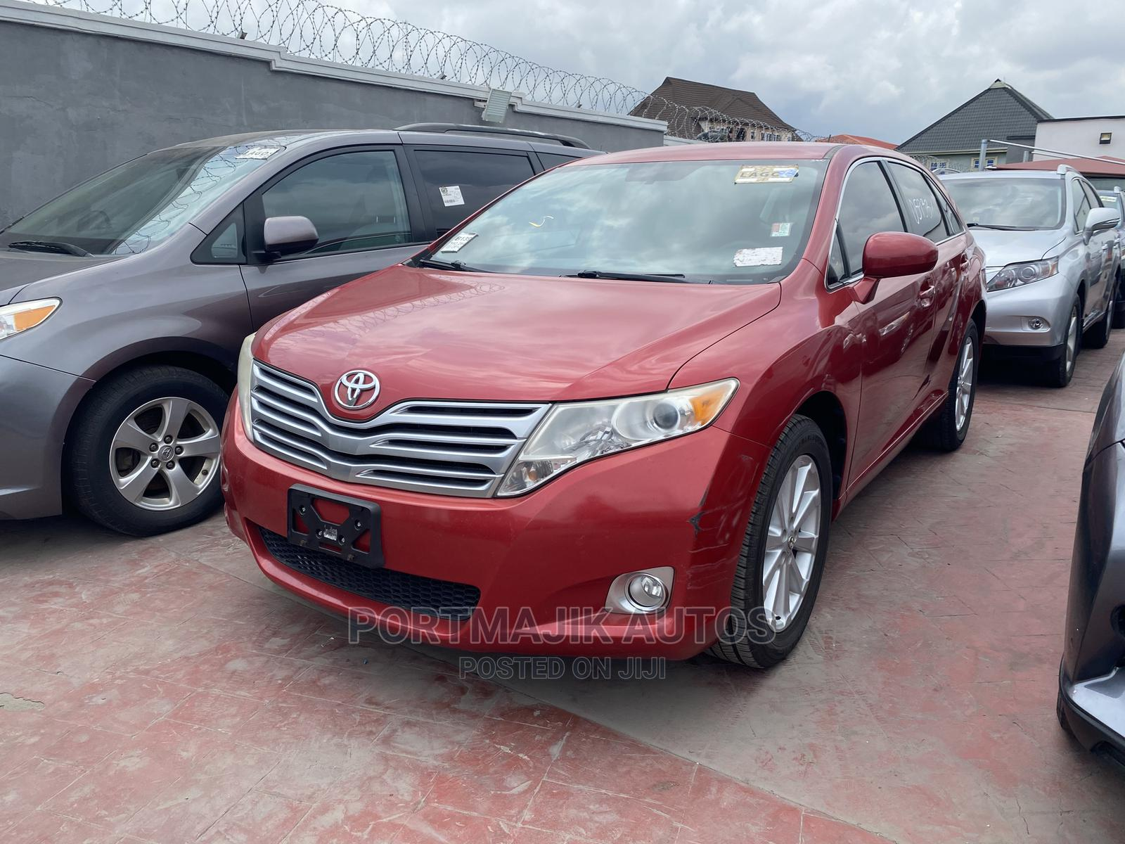 Toyota Venza 2012 Red