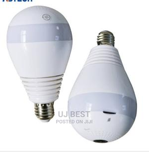 LED Light Bulb Camera WIFI Wireless 360 Degree Hidden Camera | Security & Surveillance for sale in Lagos State, Ikeja