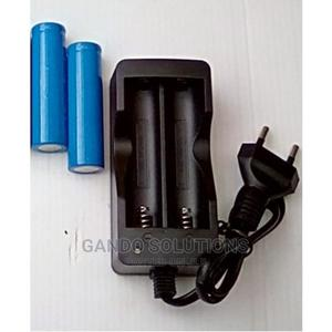 Litium Charger + 2 Pcs Battery | Accessories & Supplies for Electronics for sale in Lagos State, Ikeja
