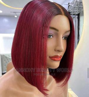 Bone Straight Bob 12 Inches With Kim K Closure | Hair Beauty for sale in Lagos State, Yaba