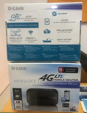 D-Link 4G LTE Mobile Router SIM Slot Dwr-932c   Networking Products for sale in Abuja (FCT) State, Utako