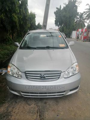 Toyota Corolla 2004 1.4 Silver | Cars for sale in Lagos State, Ikeja