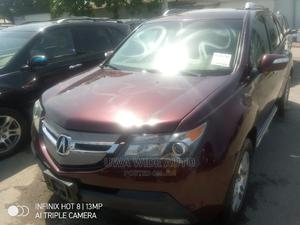 Acura MDX 2009 SUV 4dr AWD (3.7 6cyl 5A) Red | Cars for sale in Lagos State, Apapa