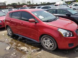 Pontiac Vibe 2009 1.8L Red   Cars for sale in Lagos State, Apapa