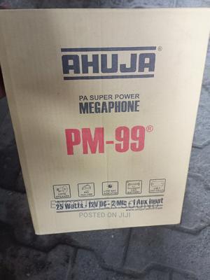 Original Ahuja Megaphone Pm-99 | Audio & Music Equipment for sale in Lagos State, Ojo