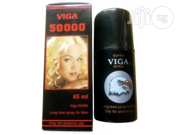 Viga 50000 (Delay Spray For Men) With Vitamin E