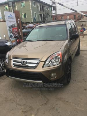 Honda CR-V 2003 2.0i ES Automatic Gold   Cars for sale in Lagos State, Surulere