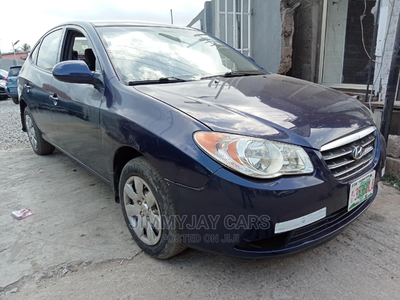 Hyundai Elantra 2008 1.6 GL Blue | Cars for sale in Ikeja, Lagos State, Nigeria