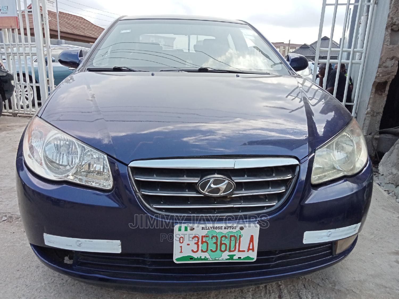 Hyundai Elantra 2008 1.6 GL Blue
