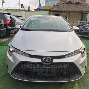 Toyota Corolla 2019 LE (1.8L 4cyl 2A) Silver | Cars for sale in Lagos State, Ilupeju