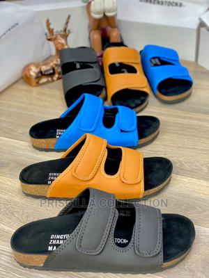 Quality Designer Palm Slippers for Men   Shoes for sale in Rivers State, Oyigbo