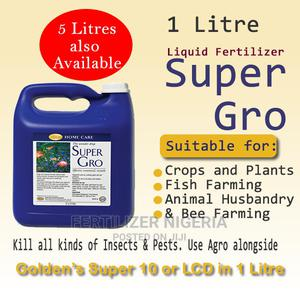 1 Liter Super Gro Organic Liquid Fertilizer | Feeds, Supplements & Seeds for sale in Lagos State, Alimosho
