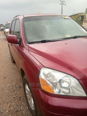 Honda Pilot 2007 EX 4x2 (3.5L 6cyl 5A) Red   Cars for sale in Lagos State, Ojodu