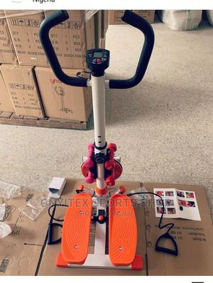 Brand New Mini Stepper With Dumbbells | Sports Equipment for sale in Lagos State, Apapa