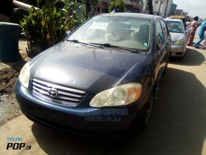 Toyota Corolla 2004 Blue | Cars for sale in Lagos State, Yaba